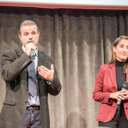 Симоне Солаццо и Моника Форте