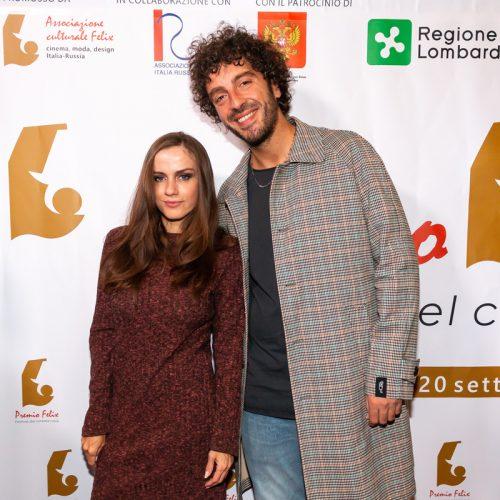 Chiara Iezzi attrice e Eman cantante