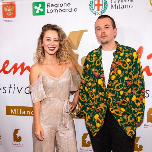 Marta Rossi attrice cantante e Ivan Makarevich