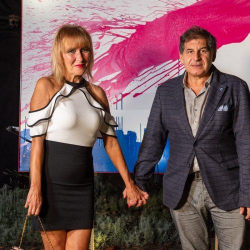 Natalia Preziosi con marito